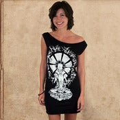 Image of Siddhartha dress - discharge inks - girls - restocked
