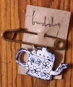 Image of Sketched Teapot Pin