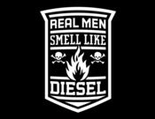 Image of REAL MEN SMELL LIKE DIESEL T Shirt