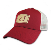 Image of Touchdown Trucker Hat - Garnet &amp; Gold