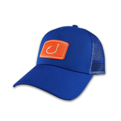 Image of Touchdown Trucker Hat - Blue & Orange
