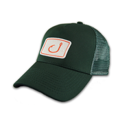 Image of Touchdown Trucker Hat - Green &amp; White