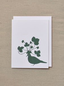 Image of Party Dove - Holiday Card