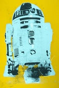 "Image of ""R2D2"" Star Wars Silkscreen Print Lowbrow British Pop Art Graffiti Icon"