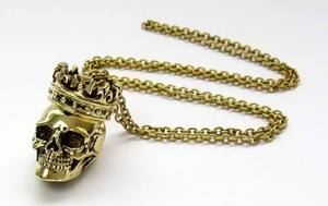 Royal Skull Necklace