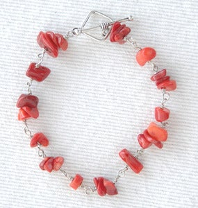 Image of Red Coral Bracelet