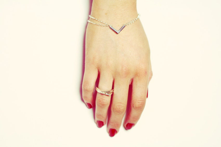 Image of Chevron Bracelet