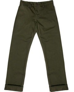 Image of West Point Olive Twill Miner Chinos