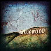 "Image of 12x12"" Panel Print - Hollywood Series - Hollywood Sign 2"
