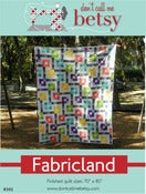 Image of Fabricland quilt pattern