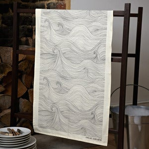 Image of Seascape tea towel