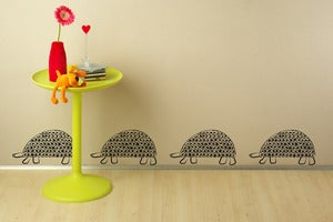 Image of Persian Tortoise Trail WALL DECAL