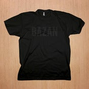 Image of Bazan: Black on Black Shirt