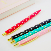 Image of JAMStudio Polka Dot Click Pen