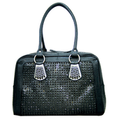 "Image of The ""Twiggy"" - Black Handbag"