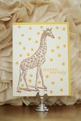 Image of Giraffe Happy New Baby