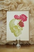 Image of Skull & Flowers