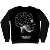 Image of PERSPECTIVE IS EVERYTHING - PHRENOLOGY crew neck sweater