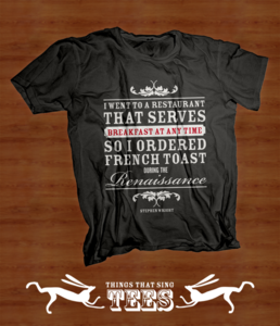 Image of French Toast T-SHIRT