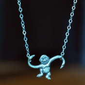 Image of Monkey Pendant