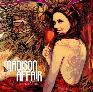 "Image of MADISON AFFAIR ""Teenage Time"" CD (Album)"