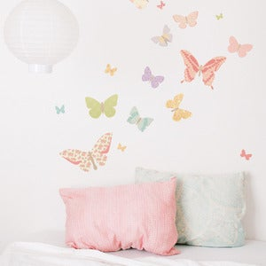 Image of Butterflies (girly) / Papillons (fille)
