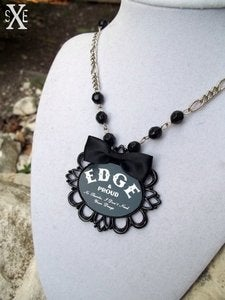 Image of Edge & Proud Pendant Necklace