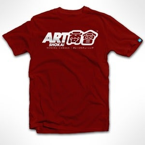 Image of ART shokai (Red) Tee