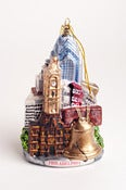 Image of Philadelphia city-scape ornament