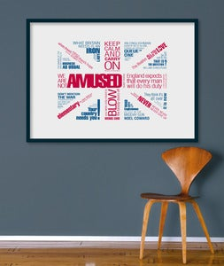Image of British Greats A1 size (LIMITED EDITION)