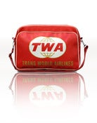 Image of TWA RETRO AIRLINE BAG