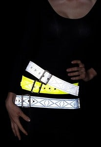 Image of CINCH BELTS Citron, White Flash, Blue Max