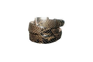 Image of The Limited Snake Skin Leather Belt