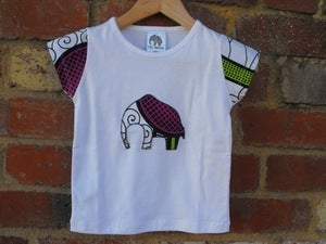 Image of Tili Bwino PENDA elephant kids t-shirt