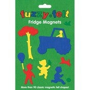 Image of FUZZY FELT FRIDGE MAGNETS