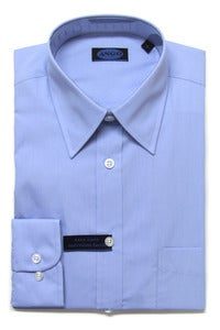 Image of AN705 ANGO PLAIN BLUE SHIRT