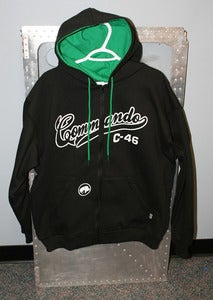 Image of Hoodie Of The Week Commando C-46 Zip-Up Hoodie