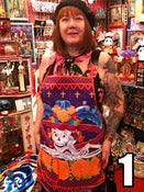 Image of Day of the Dead aprons.