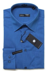 Image of HRST HR72734 BLUE SHIRT