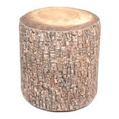 Image of Velvet Wood Stool