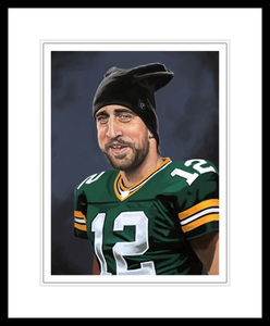 Image of Aaron Rodgers Print