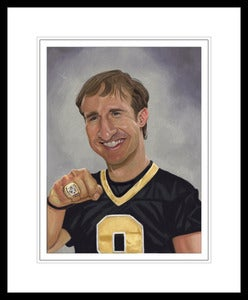 Image of Drew Brees Print