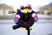 Image of Shutter Buddies Paul Purple Owl With Squeaker