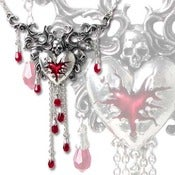 Image of Swarovski Crystal Adorned Necklace - Cruel Wounds