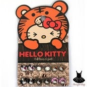 Image of HELLO KITTY ANIMALS EARRING PACK