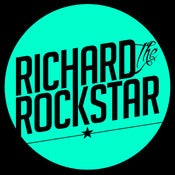 Image of RichardTheRockStar - Teal Logo Shirt
