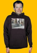 Image of Orchard Hooded Sweatshirt - Joey Pepper by Jerry Fowler - Charcoal heather