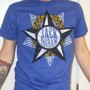 Image of Blue Star Logo Men's T-Shirt