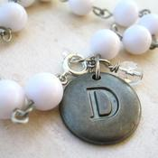 Image of Personalized Initial Charm Bracelet