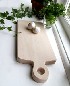 Image of Paddle Chopping board - large